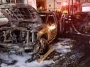 كفرياسيف: احتراق 5 سيارات واصابة 24 شخصا بجراح طفيفة