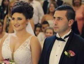 ليدي- زفاف المطربة نانسي حوا ومارون شحادة من حيفا