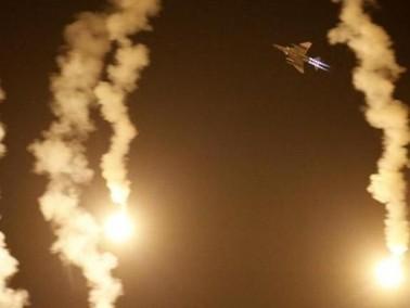 الجيش الاسرائيلي يقصف مواقع للجيش السوري
