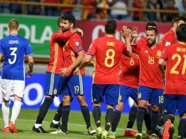 إسبانيا تسحق ليشتنشتاين