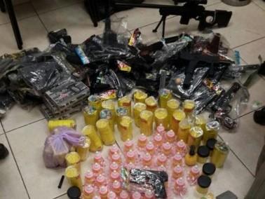اعتقال مشتبه من مجد الكروم بعد ضبط مفرقعات ومخدرات