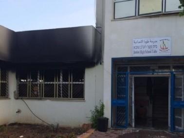 حريق في مدرستين في طوبا الزنغرية