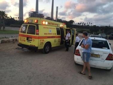 انقاذ غريق بحالة خطيرة في شاطىء أولجا