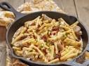 مطبخ العرب يقدم: صينية المعكرونة باللحم واللبن