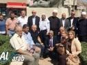 زيارة تضامنية لوفد من السلطة الفلسطينية برئاسة د.جمال محيسن للجولان