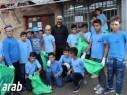 طلاب وأعضاء مجلس حرفيش يُشاركون في يوم النظافة العالمي