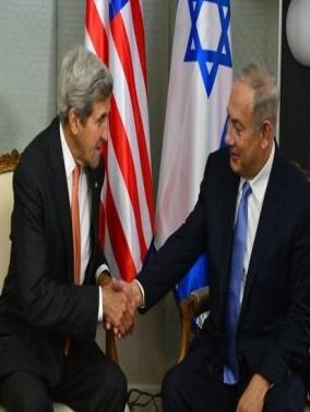 نتنياهو يلتقي وزير الخارجية الأمريكي جون كيري