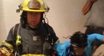 إصابة 6 أشخاص جرّاء اندلاع حريق في شقة سكنية في صفد
