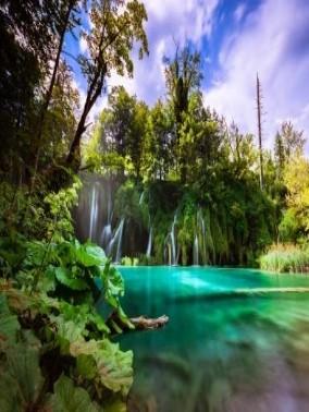 طبيعة بحيرات بليتفيتش- كرواتيا