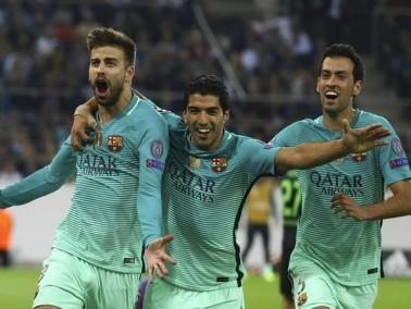 برشلونة يفوز بشق الأنفس على مضيفه بوروسيا موشنجلادباخ