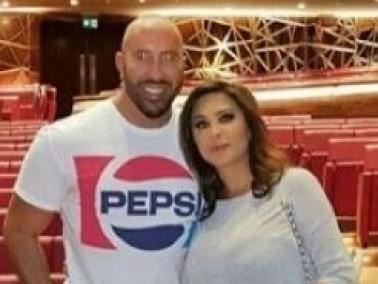 إليسا تزور دار أوبرا دبي برفقة صديقها.. بالصور