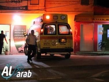 قلنسوة: إصابة راكب دراجة نارية بجراح متوسطة