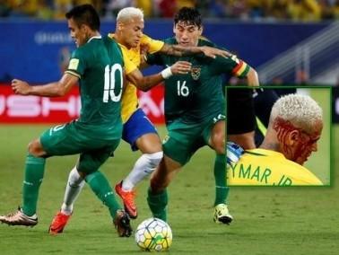 لاعب بوليفيا يحذر نيمار بعد الاعتداء عليه