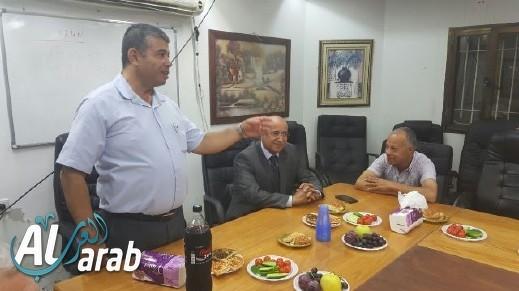 لجنة مكافحة العنف تعقد جلسه طارئة في الرامة