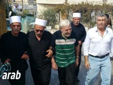 الافراج عن سعيد نفاع والعشرات في استقباله