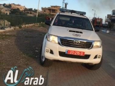 بيت حنينا: القاء حجارة تجاه سيارة دورية شرطة