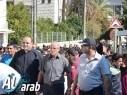 الرامة: مسيرة ضد العنف يقودها طلاب المدارس الاعدادية والثانوية