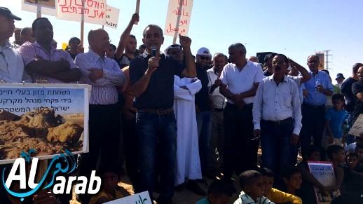النقب: مظاهرة ضد سياسة هدم البيوت