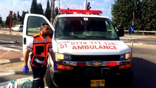 شقيب السلام: إصابة شاب بجراح متوسطة