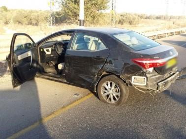 إصابة 7 اشخاص في حادث طرق على مفرق عيلوط