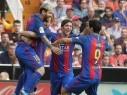 ميسي يقود برشلونة للفوز على فالنسيا بركلة جزاء في الوقت القاتل