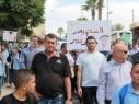 كفرقاسم: مسيرة طلابية ضد العنف- بدير: من يبتغي الثأر ليس له مكان لدينا