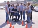 عكا: يوم الحذر على الطرق لطبقة الثواني عشر في مدرسة اورط على اسم حلمي شافعي