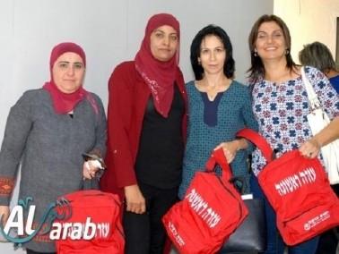 مجلس مجد الكروم يوزع حقائب للاسعاف الاولي