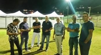 الانتهاء من التجهيزات لافتتاح مهرجان مجد الكروم غدا الخميس