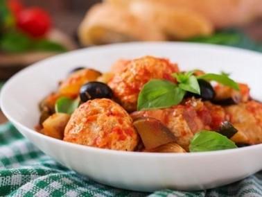 المطبخ الجزائري يقدم: الدجاج بالباذنجان والكاري