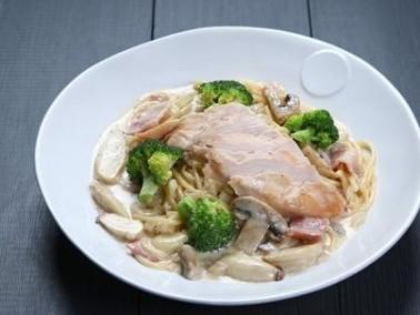 دجاج بالثوم وجبنة البارميزان لرجيم متوازن