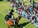 الشرطة في يوم جماهيري في بلدة طوبا الزنغرية