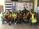 كابول: فعاليات أسبوع الحذر على الطرق في مدرسة الأفق