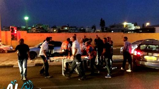 جلجولية: إصابة شاب في حادث دهس