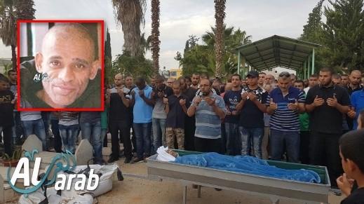 كفرقاسم: جماهير غفيرة تشيع جثمان سليمان فريج