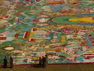 أكبر معرض لفن الثانغكا في العالم