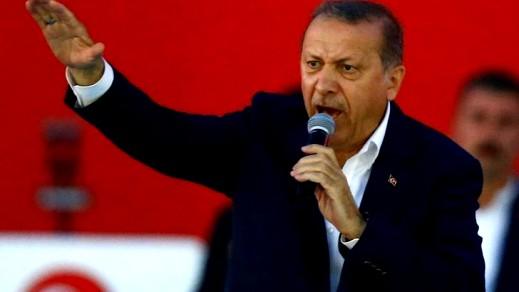 أردوغان: الغرب يدعم تنظيم داعش