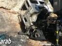 احتراق شاحنة ومركبتين في مدينة الطيبة والشرطة تحقق