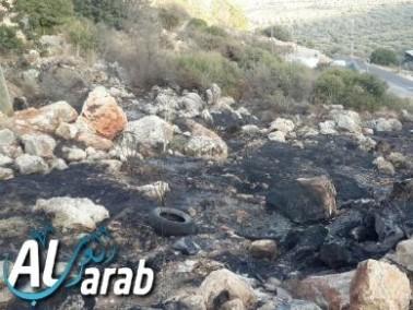 تمديد اعتقال 3 أشخاص من ديرحنا على خلفية الحرائق