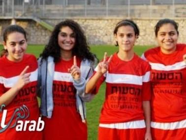 خماسية نظيفة لفتيات مجد الكروم بكرة القدم