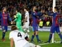 برشلونة يسحق ضيفه بوروسيا مونشنجلادباخ في الجولة الأخيرة