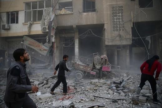 وسائل اعلام سورية: اسرائيل قصفت موقعا قرب دمشق