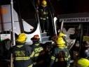 القدس: مصرع شخص في حادث طرق بين عدة سيارات وحافلتين