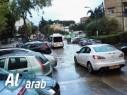 بالفيديو: مياه الامطار تغرق شوارع في حيفا وتسبب فيضانات