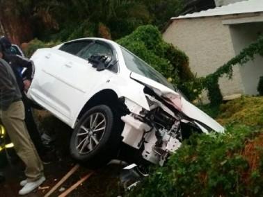 اصابة شابة في حادث طرق في الرامة