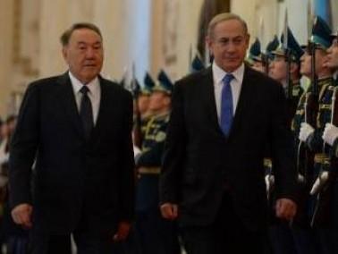 نتنياهو في لقائه مع الرئيس الكازاخي: