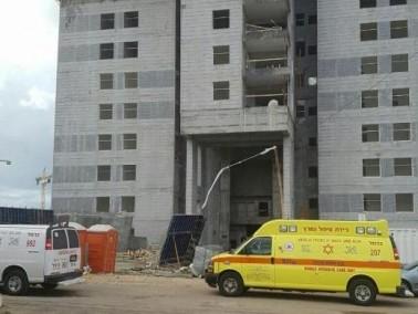 طيرة الكرمل: مصرع عامل أجنبي في ورشة بناء