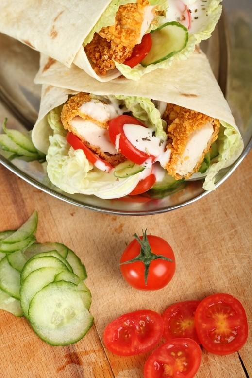لفائف الدجاج المقلي على طريقة مطبخ العرب