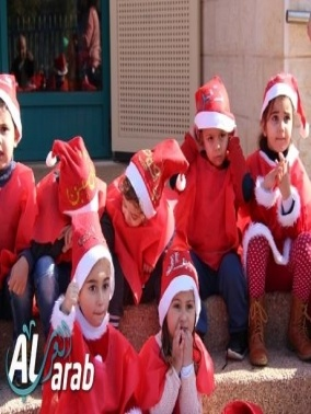 ديرحنا: المركز الجماهيري يحتفل مع الاطفال