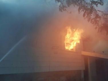 نحف: حريق في مخزن وطواقم الإطفاء تعمل على إخماده